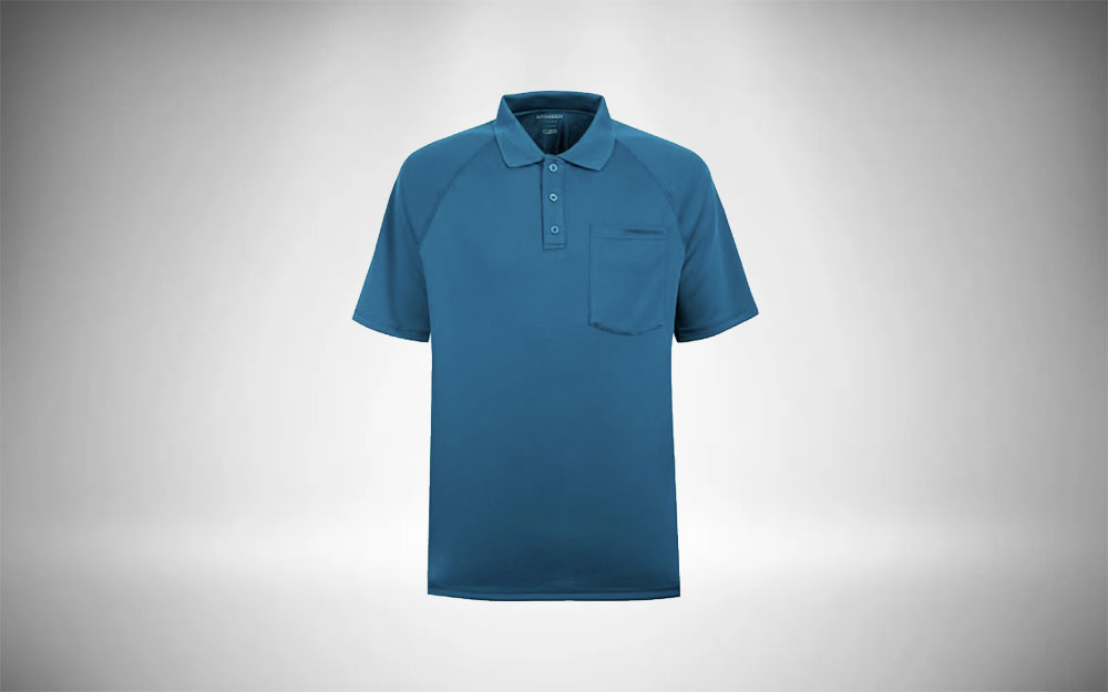 MOHEEN Moisture-Wicking Golf Polo Minimalist Mens Closet