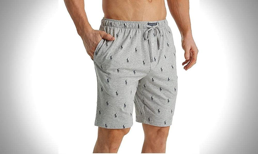 best mens shorts brands Polo Ralph Lauren Men's Knit Sleep Shorts