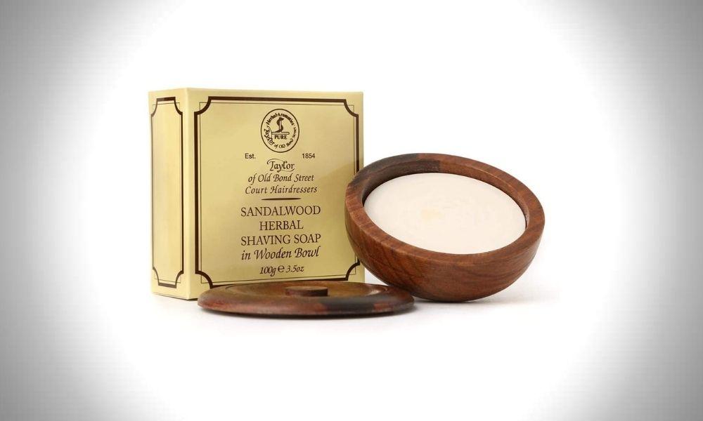 Taylor of Old Bond Street Sandalwood Shaving Soap