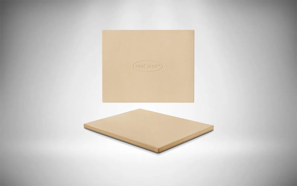 Unicook |Rectangular Pizza Stone for Grill