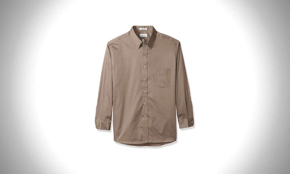 Van Heusen Regular Fit Solid Oxford Shirt