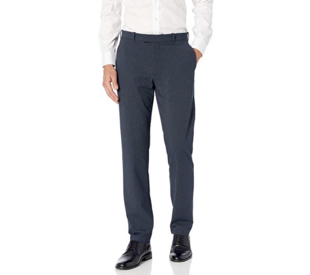 Van Heusen Straight Fit Pants Minimalist Wardrobe Fundamental