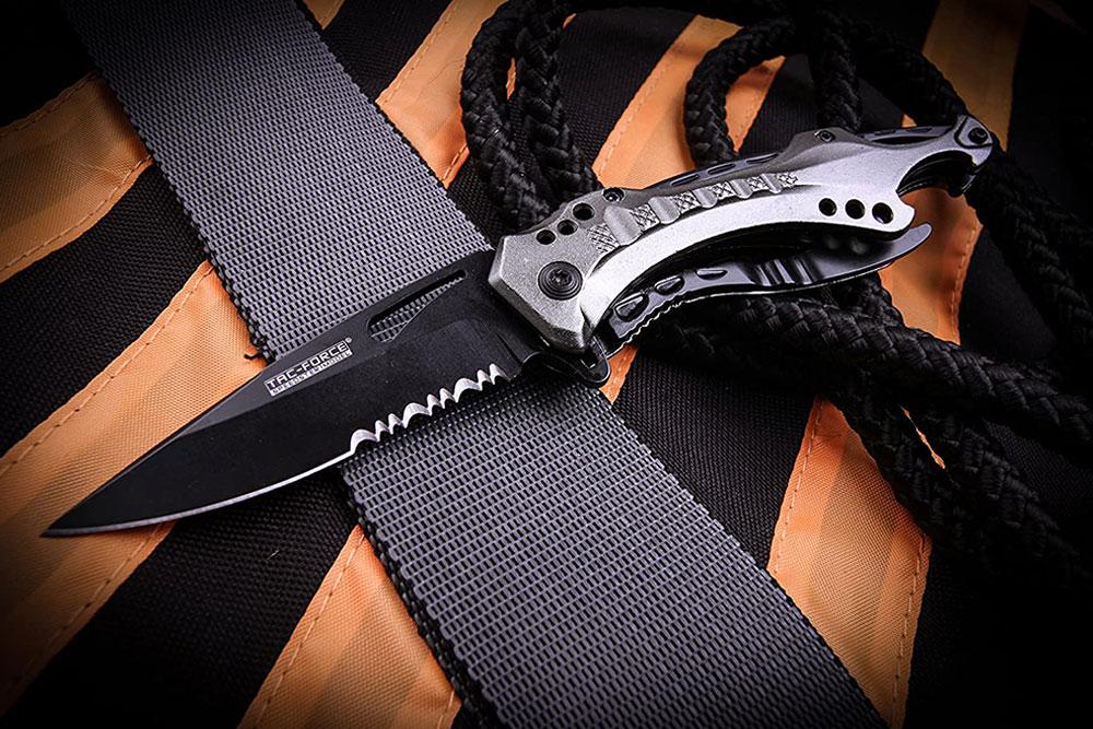 TAC Force Spring Assisted Folding Pocket Knife