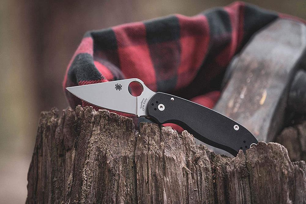Spyderco Para 3 Signature Folding Knife