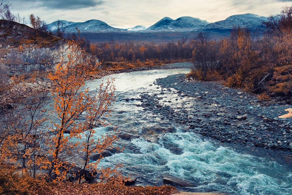 Abisko National Park Famous Sweden Scenery