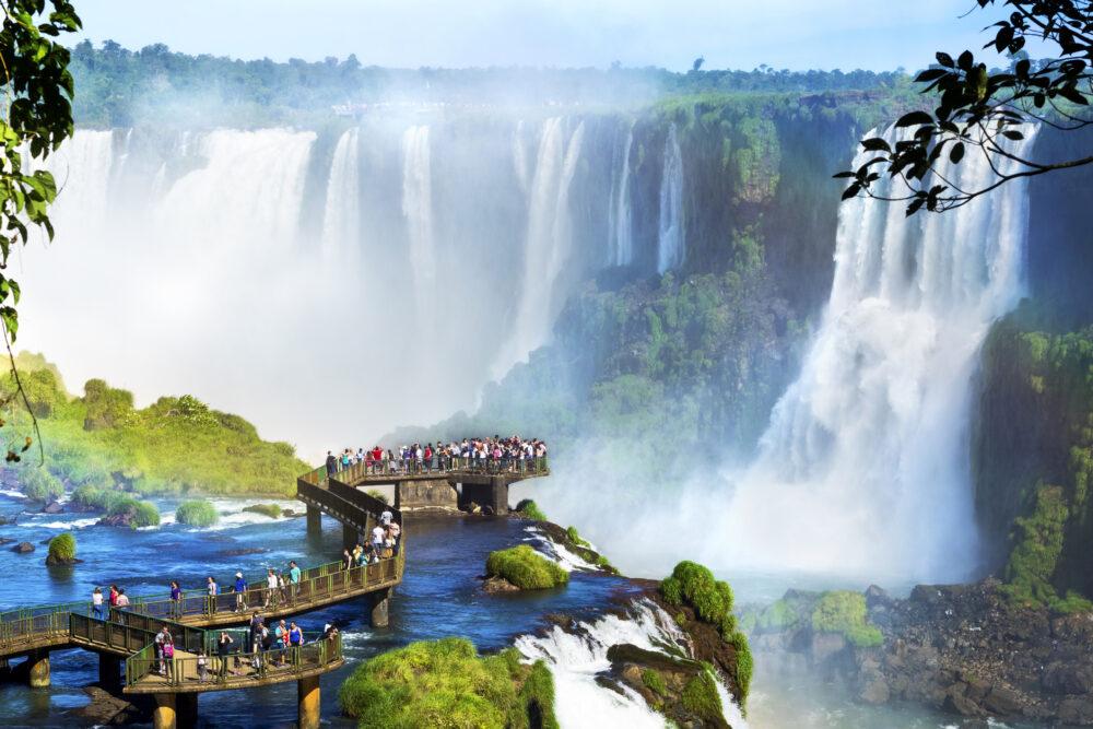 Best Places to Visit in Brazil - Iguazu Falls