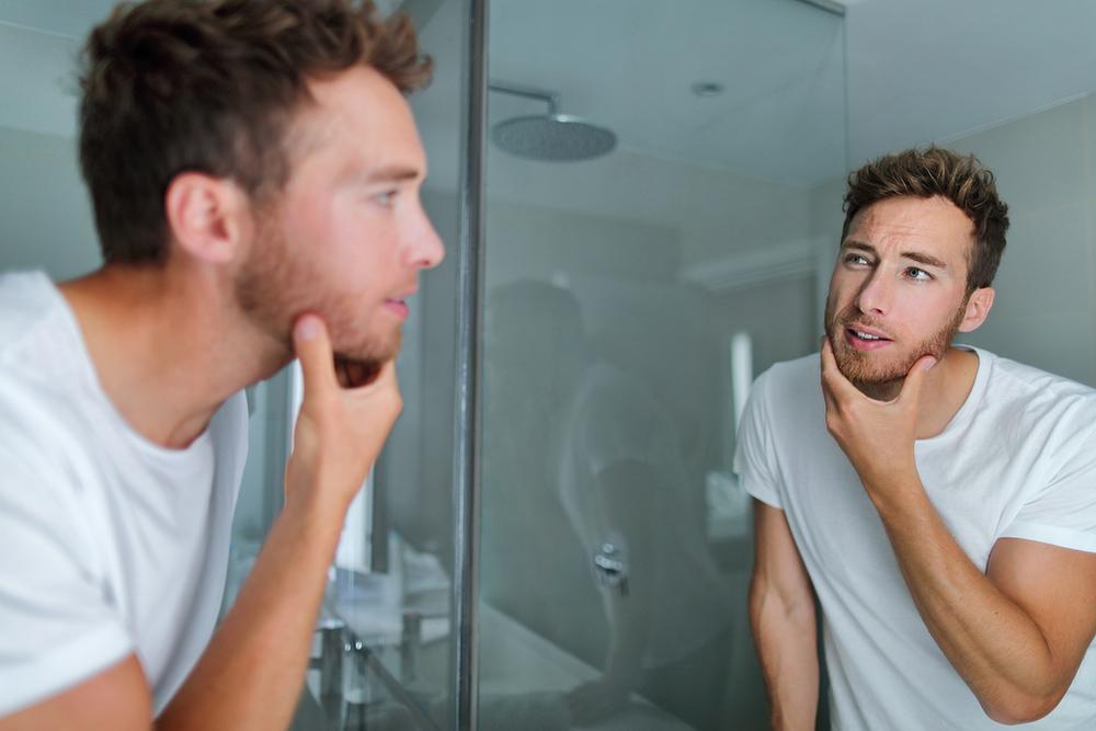 How to fix dry skin under beard