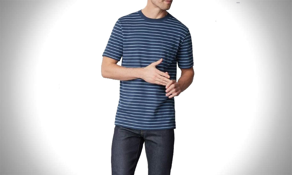 Mack Weldon | Cool Dryknit Mens Crew Neck T-Shirt