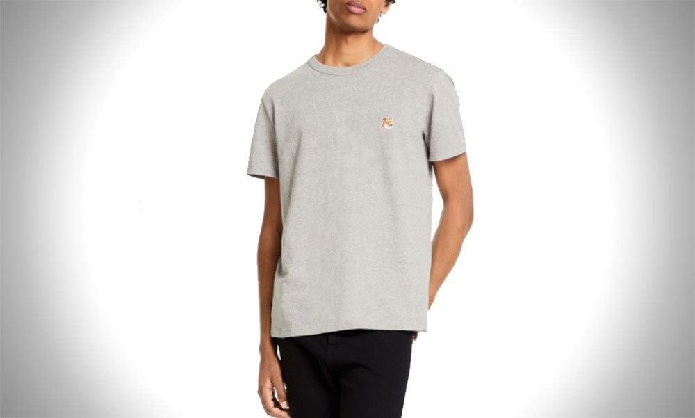 Maison Kitsune | Fox Head Patch Classic T-Shirts