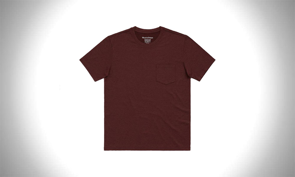 Wool & Prince Pocket Tee Shirt