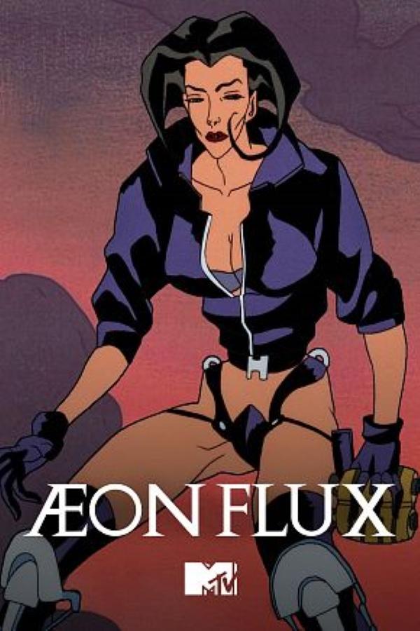 90s TV shows Aeon Flux