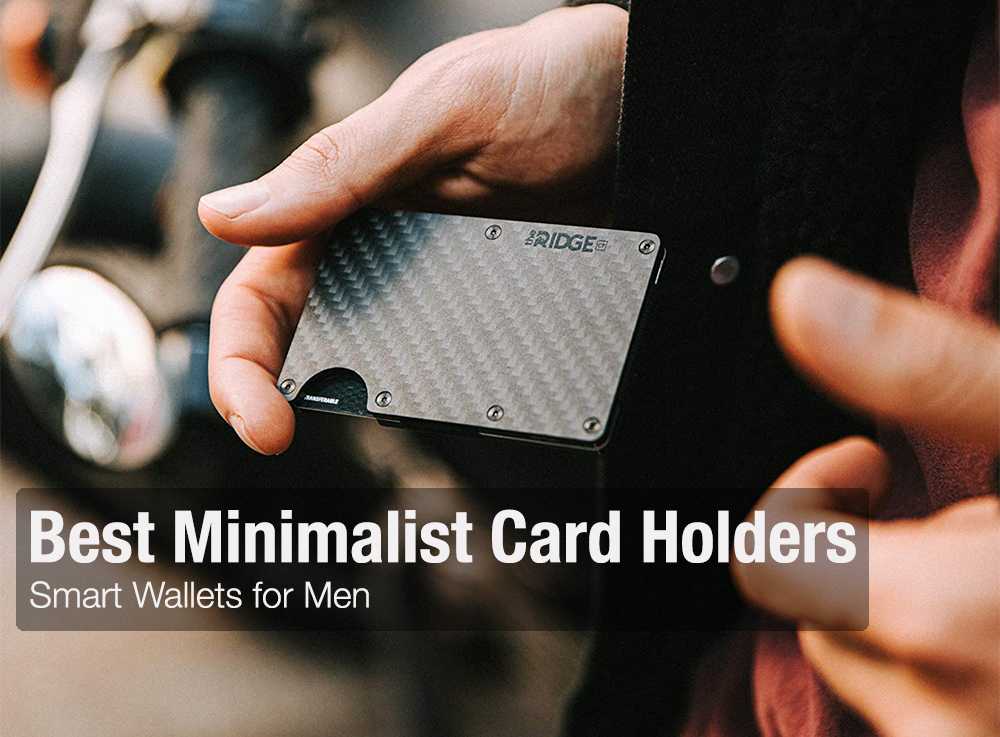 Best Card Holder Wallet for Men - Minimalist Wallets