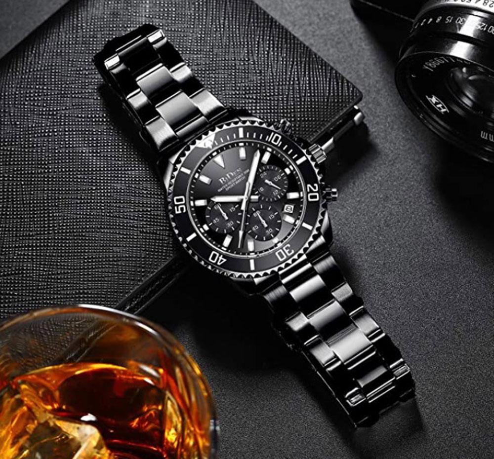 Biden   Mens Chronograph Watches