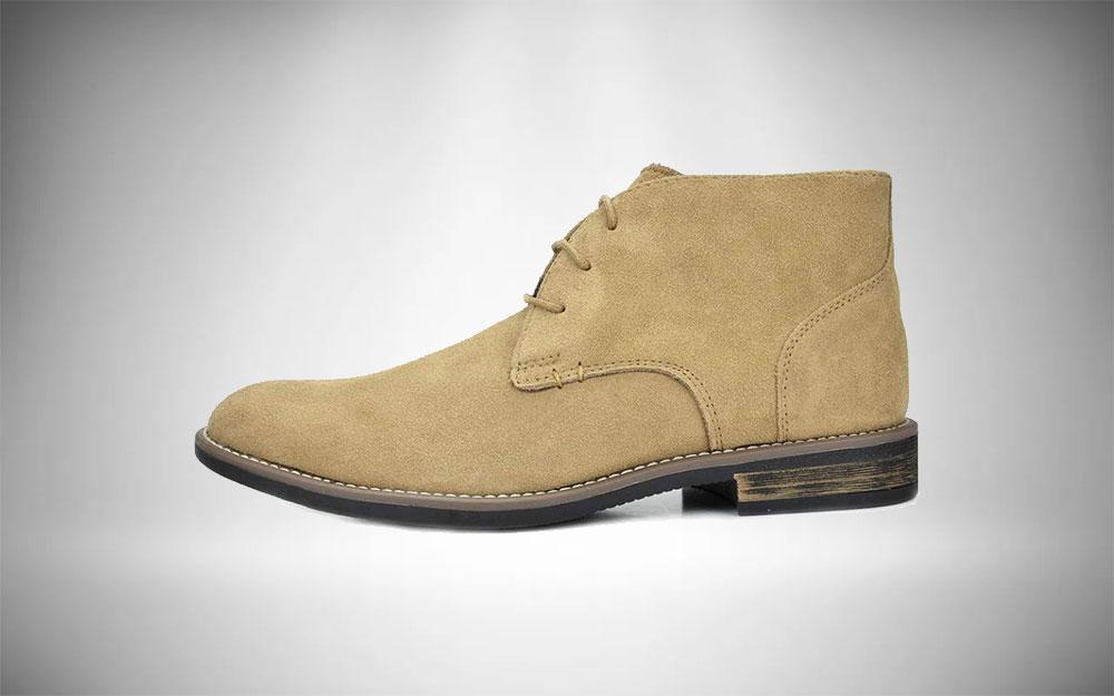 Bruno Marc Urban Mens Suede Chukka Boots