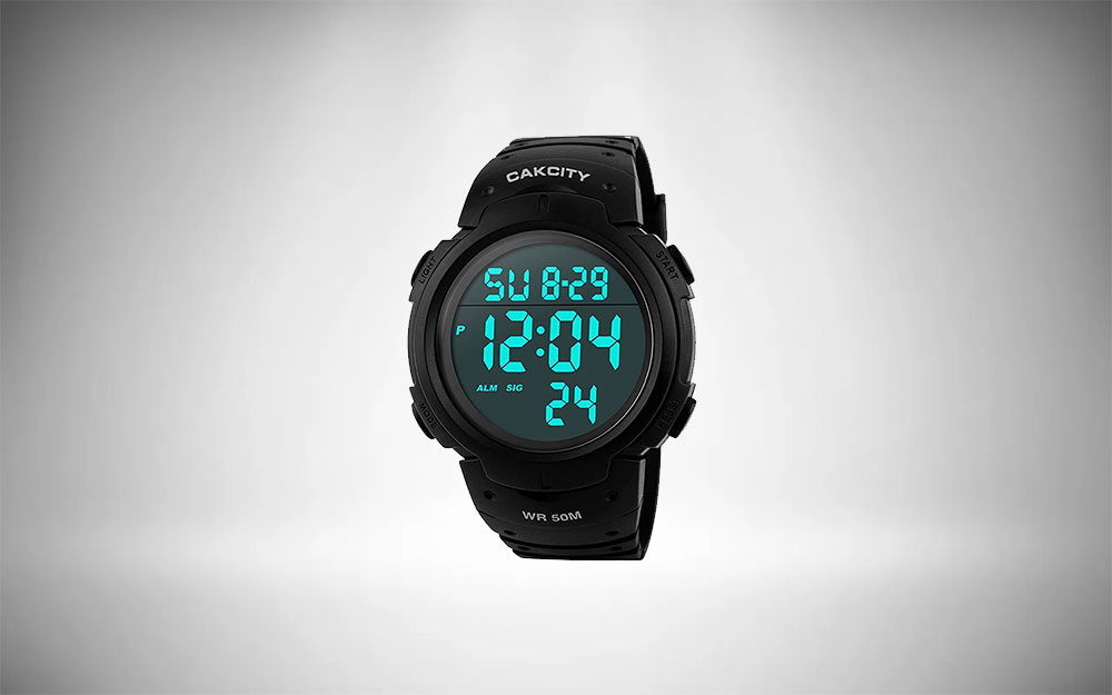 CakCity Digital Watch for Mens Sports