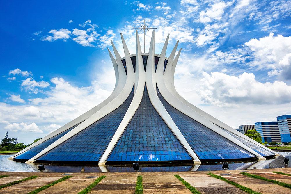 Capital of Brazil - Brasilia Cathedral