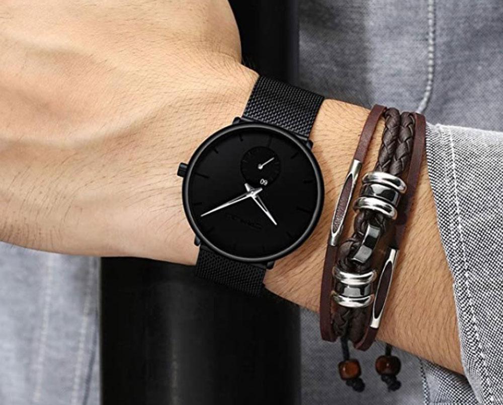 FIZILI   Ultra-Thin Minimalist Watches for Men