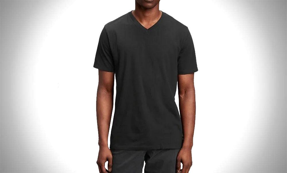 Gap | Classic V-Neck Solid Color T-Shirts