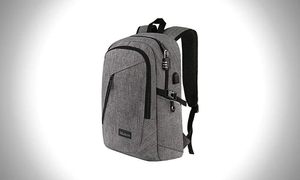 Mancro Waterproof Laptop Bags for Men