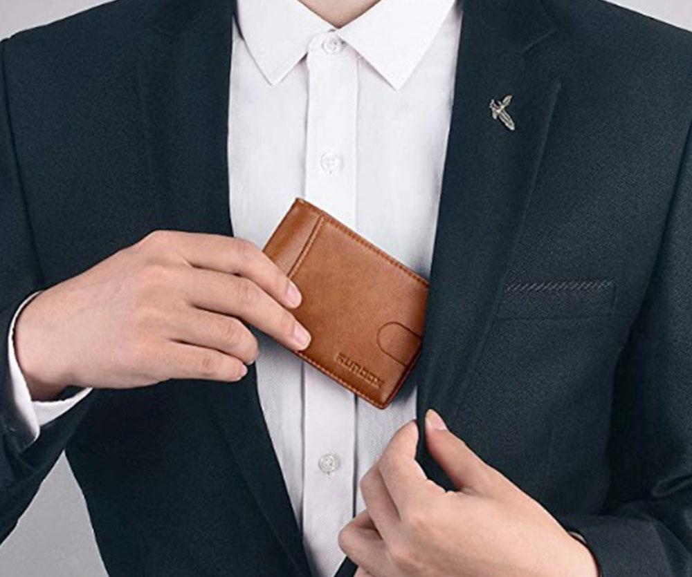 RUNBOX Minimalist Bifold Wallet