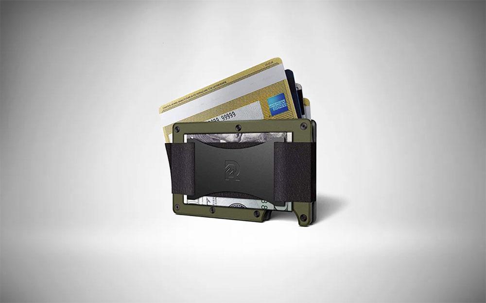 The Ridge Smart Wallet RFID-Blocking Card Case