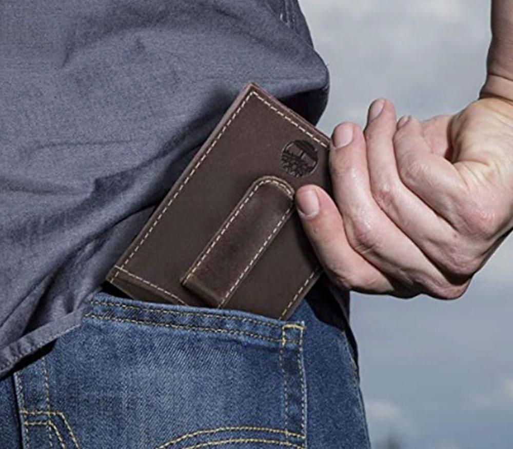 Timberland Minimalist Wallet for Men