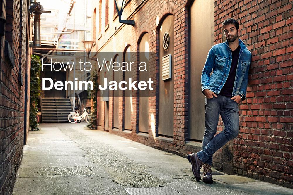 How to wear a denim jacket stylishly