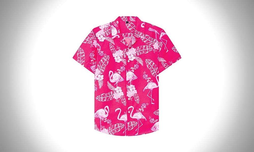 Alimens & Gentle Casual Hawaiian Guys Shirt