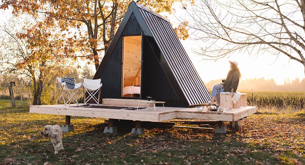 Bivvi A-Frame Cabin