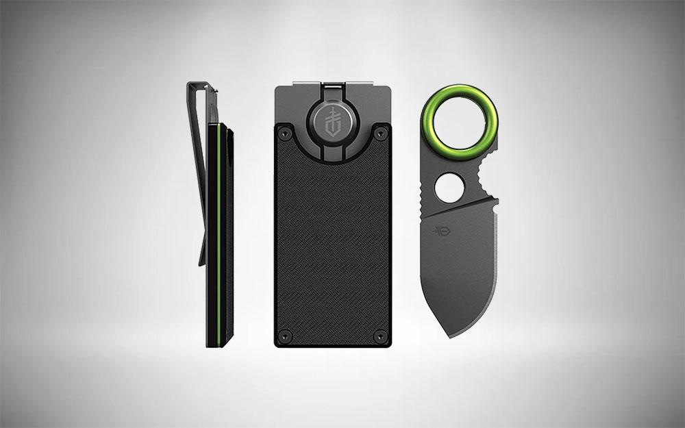 Gerber Gear Steel Wallet + Survival Knife