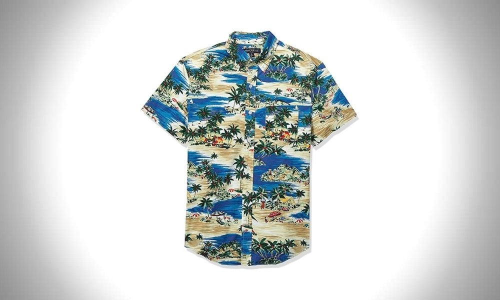 J.Crew Mercantile Hawaiian Print Shirts