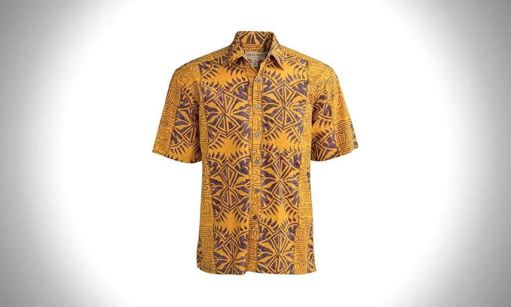 Johari West Hawaiian Button-up Shirts for Men