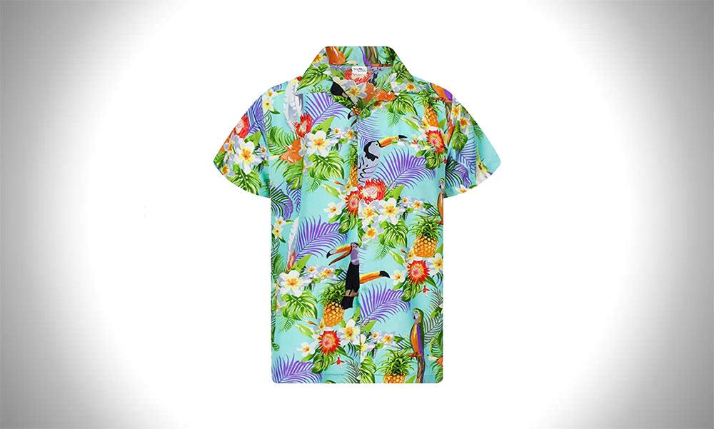 KING KAMEHA Funky Hawaiian Shirts