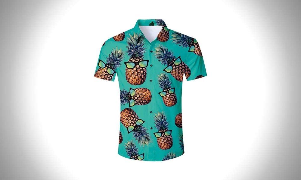 RAISEVERN Funny Hawaiian Shirts