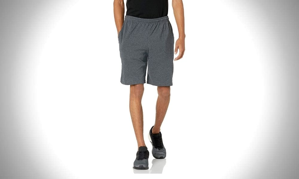 Russell Gym Shorts | Jersey Cotton Athletic Shorts for Men
