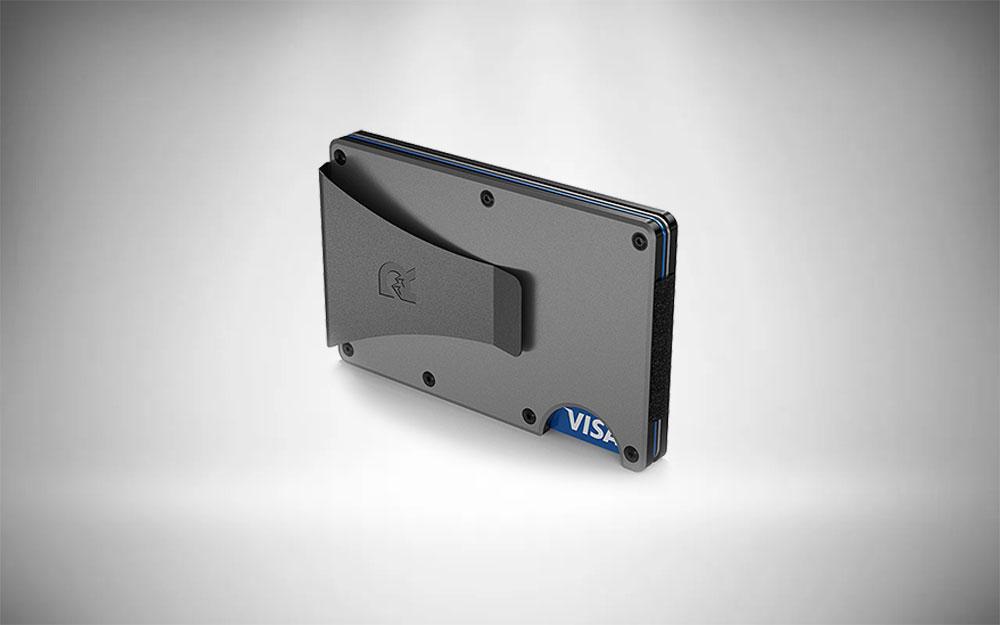 The Ridge Slim Metal Front Pocket Wallet