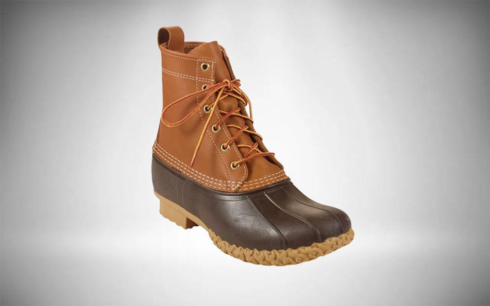 Country Club Look - L.L. Bean Duck Bean Boots