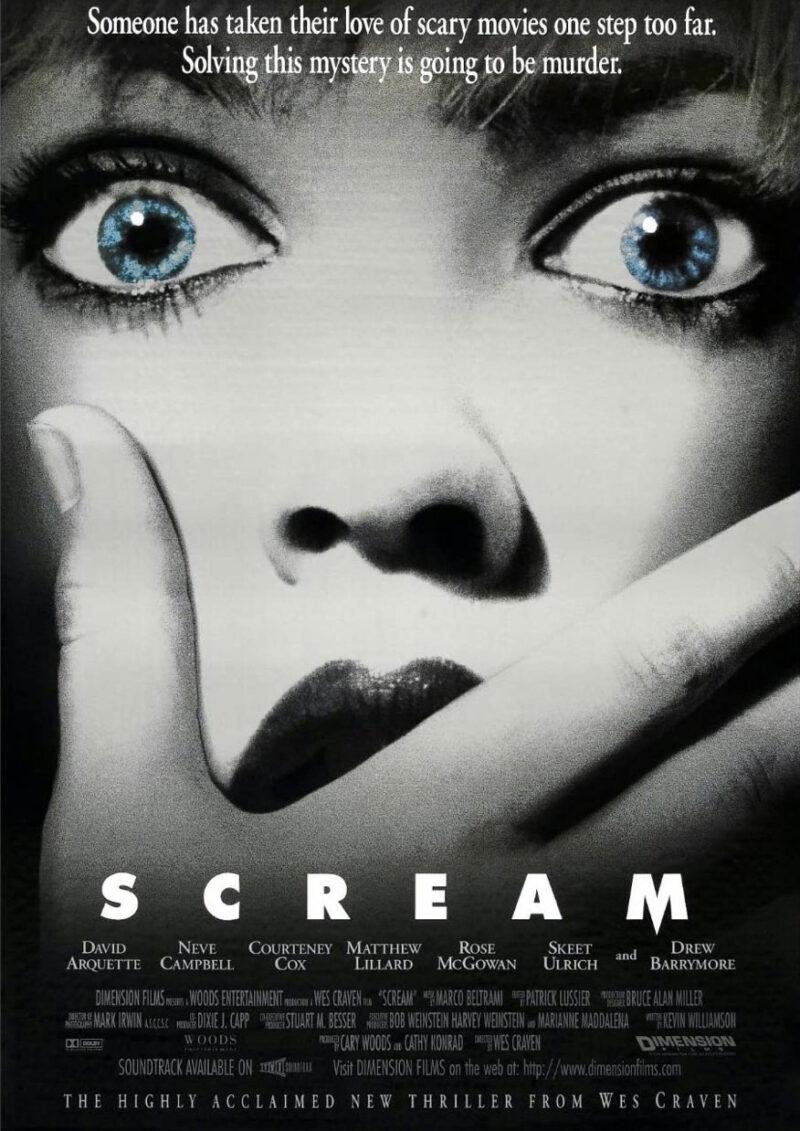 Horror Movies 1996 - Scream