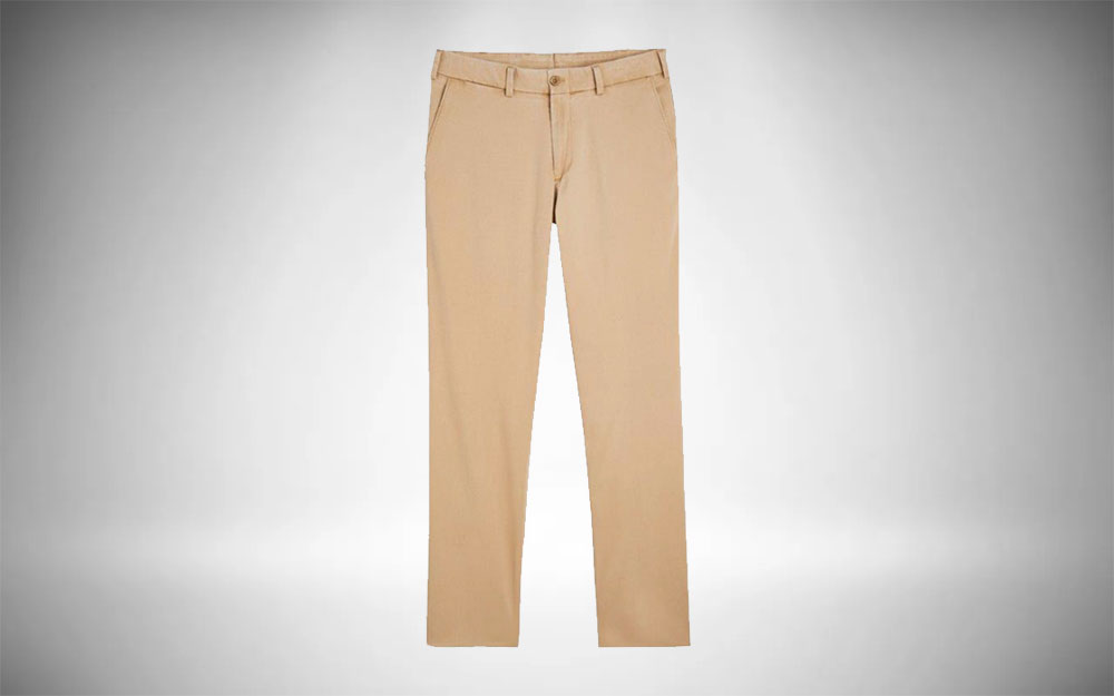 Vintage Preppy Guys Clothing - Bill's Khakis Straight Fit